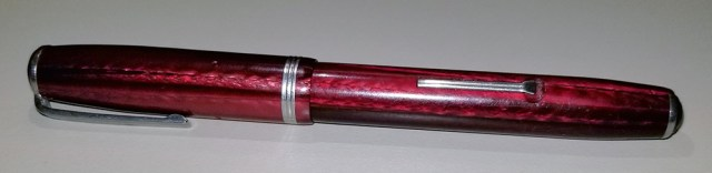 My Esterbrook J in Dubonnet Red