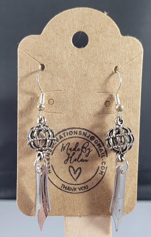 Earrings from Helen's Creations NJ