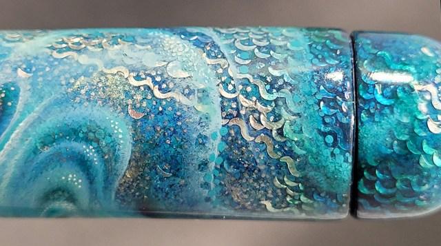 ARTUS Four Elements Water Closeup of Raden Scales