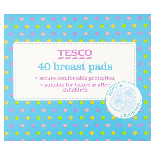 Tesco breast pad