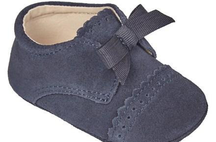 John Lewis Heirloom Leather Pram Shoes