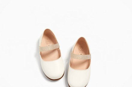 Zara Leather Ballerina