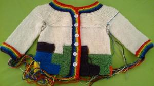 Tetris Baby Cardigan