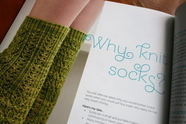 Why knit socks