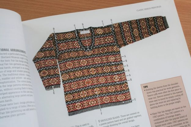 Shetland Jumper Construction
