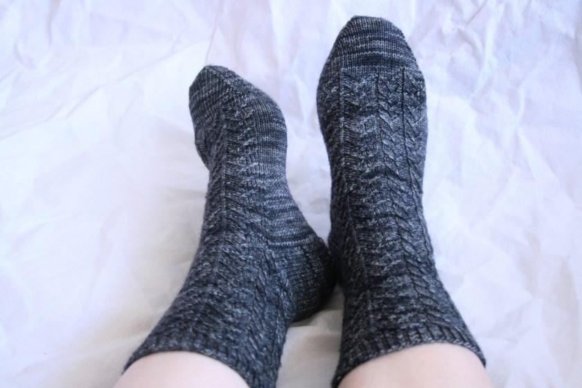 Pangolin Socks ©Rachel Gibbs