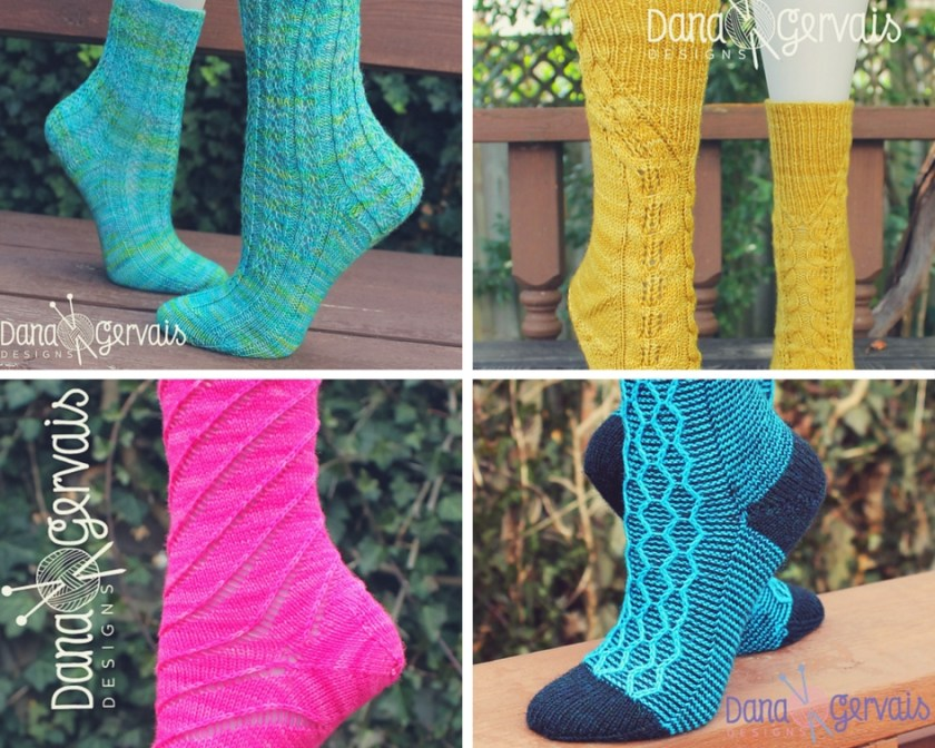 Sock Designs from Dana Gervais