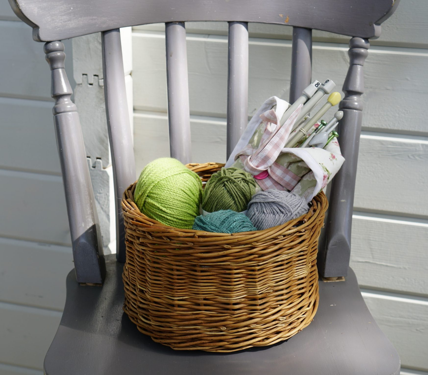 Simple Willow Basket