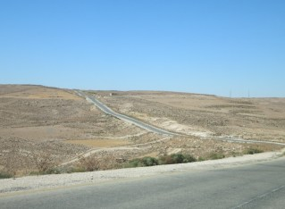 Jordanian taxis and a near-miss