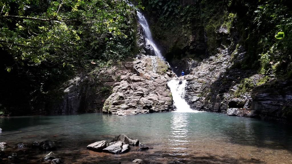 Bras du Fort waterfall in Guadeloupe