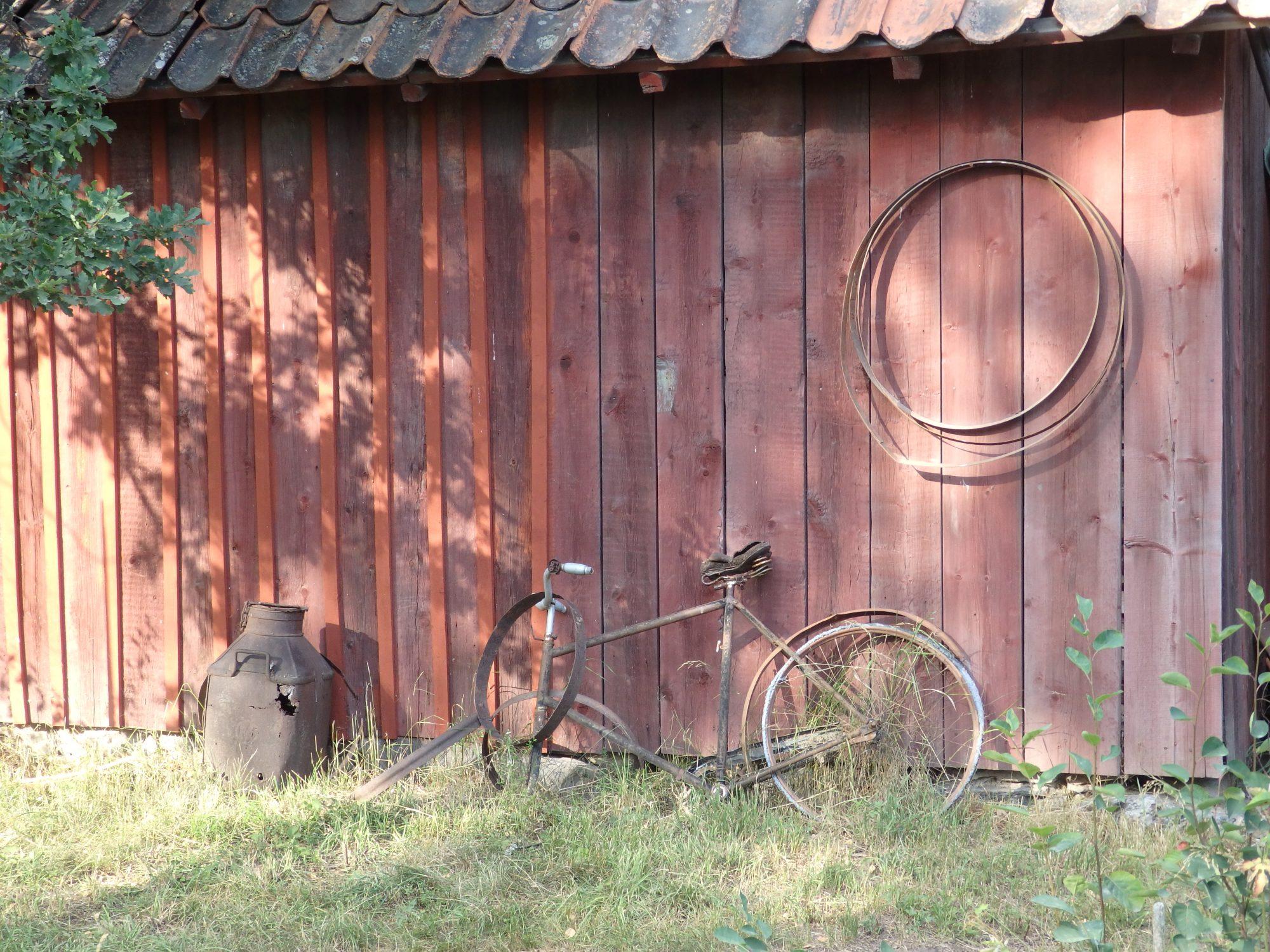 a Skansen scene
