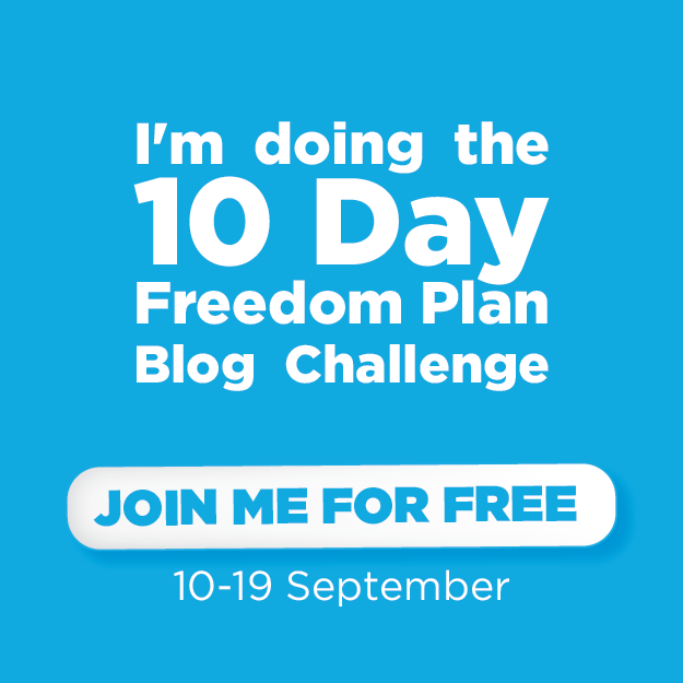 freedom plan blog challenge