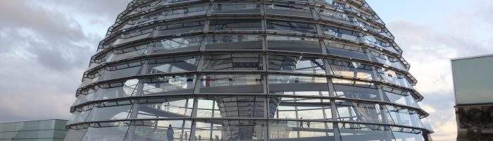 Touring Reichstag Dome for a Wider View of Berlin