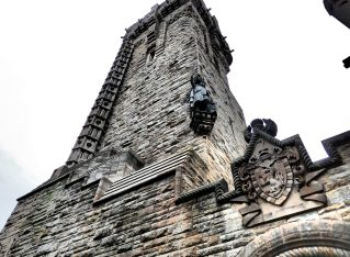 The Wallace Memorial and a travel blogger's heart