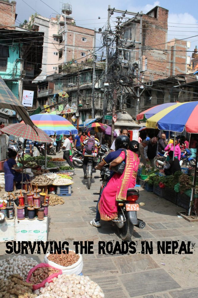 Surviving the roads in Nepal