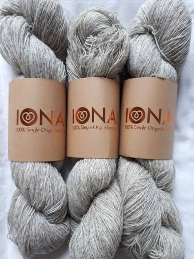 Iona wool - laine, nylon, mohair