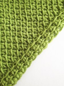 Increase with a reverse yarn over