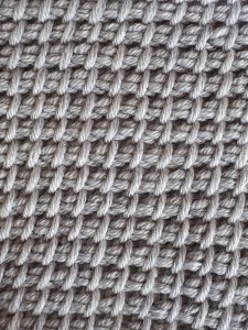 Twisted up Tunisian simple stitch