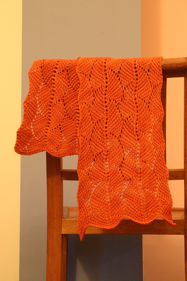 Le bois des rêves, one of my first published Tunisian crochet patterns