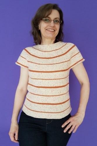 Silke Reibeling, alias Haekelreigen, designer crochet tunisien