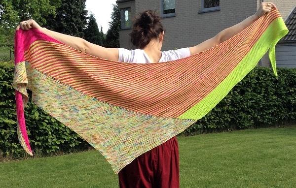 Tunisian crochet pattern Vice Versa