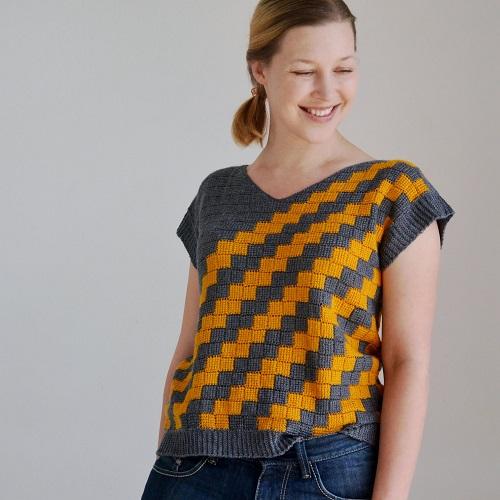 Lena Fedotova, designer crochet tunisien