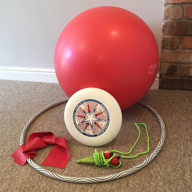 July Blog 2018 Use the unused fitness equipment you own!