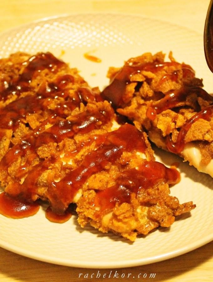 Bissli Chicken with Brown Sugar Sauce