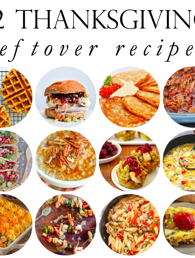Thanksgiving Leftover Recipes