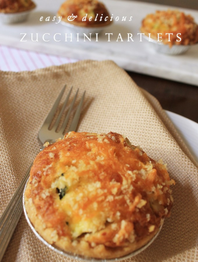 Simple and Delicious Zucchini Tartlets
