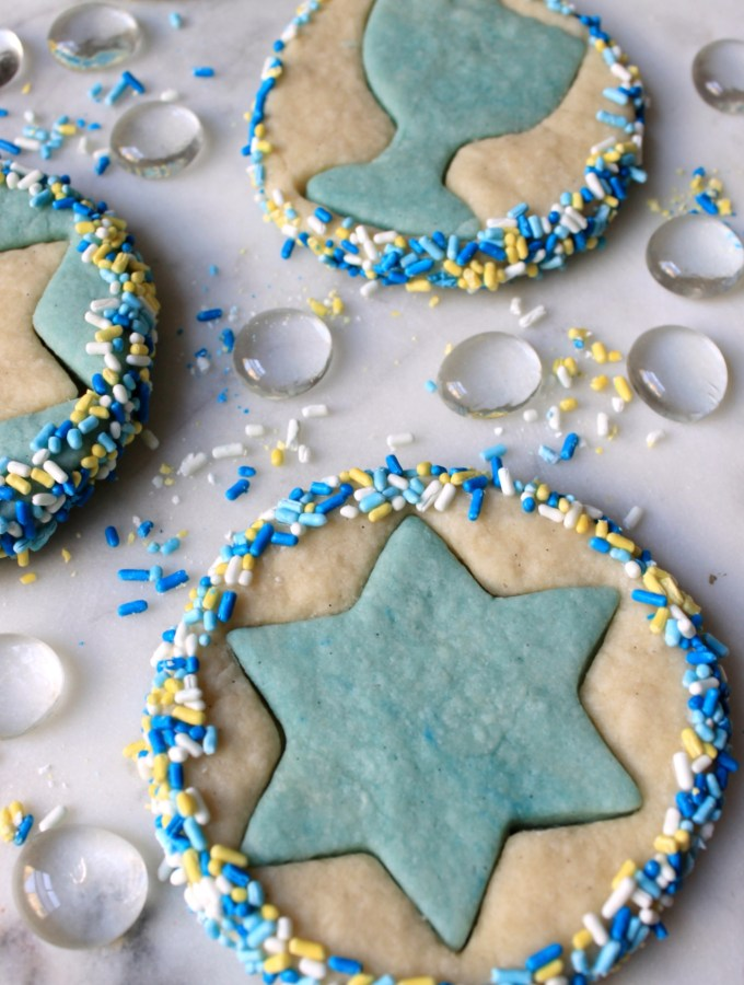 Chanukah Cut-Out Cookies