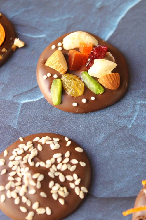 Homemade Chocolate Coins