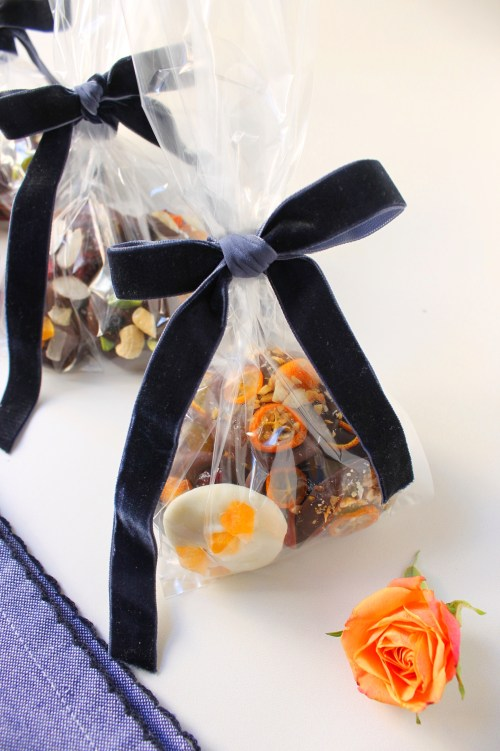 Homemade Chocolate Coins Gift