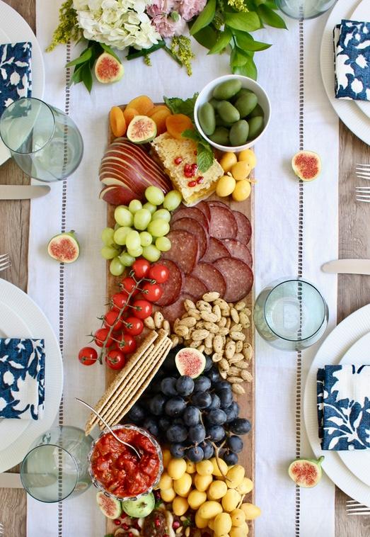 Easiest Fall Appetizer Board