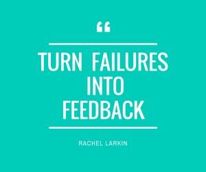 turn failures into feedback