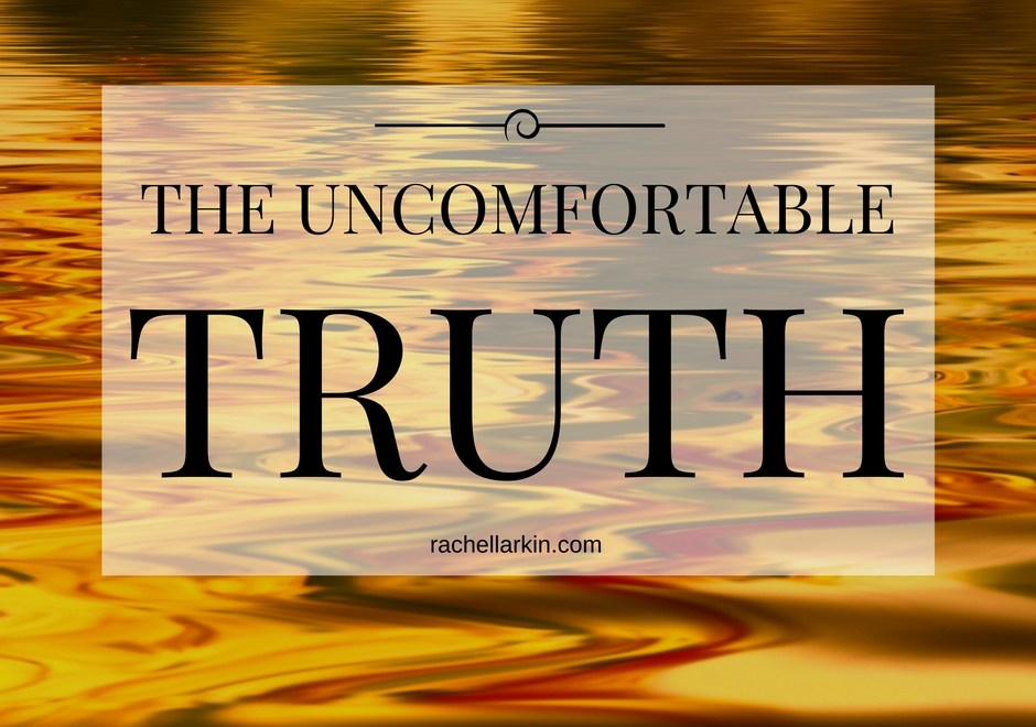 The Uncomfortable Truth: moving forward involves leaving pieces of yourself behind…