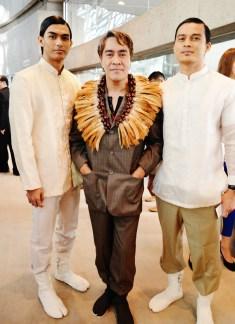 "John Ablaza, Filipino fashion designer, created costumes for the documentary ""Jose Rizal, The First Hero"""