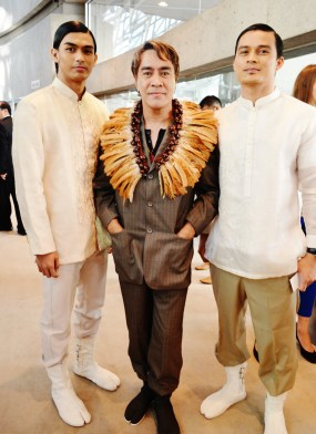 "John Ablaza, Filipino fashion designer, created costumes for the documentary ""Jose Rizal, The First Hero"""