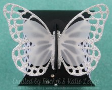Stampin' Up! Butterfly Thinlits Curvy Keepsake Box - Convention 2015 Gold Coast Swaps - Created by Rachel and Katie Legge rachelleggestampinup.wordpress.com