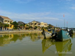 Riverside in Hoi An, one of several UNESCO sites in Vietnam