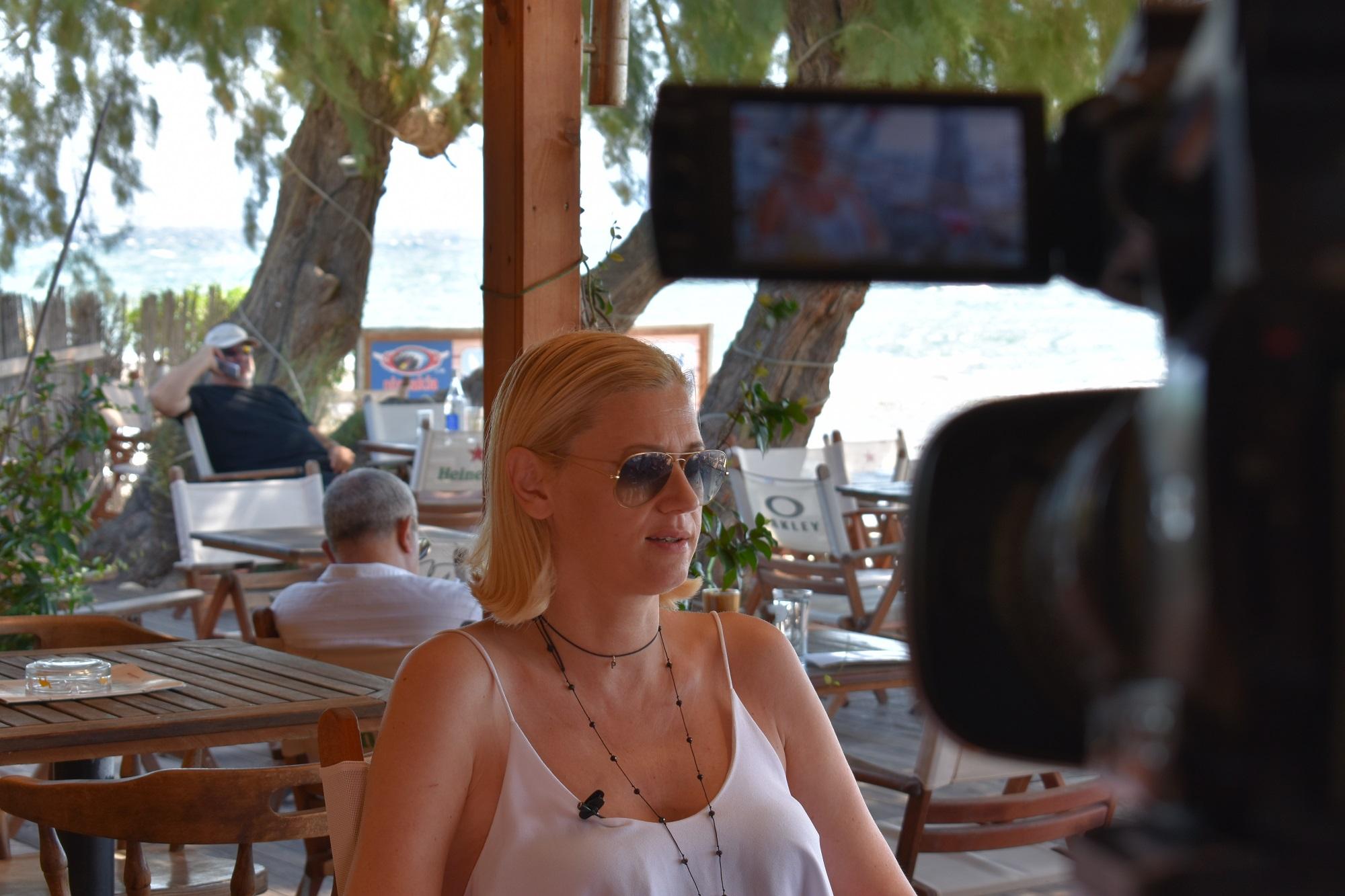 Συνέντευξη της Ραχήλ Μακρή στην Χριστίνα Λαμπίρη στο κανάλι του Εpsilon | 24.07.2017