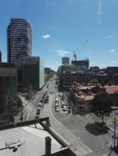 View from RMIT Building 80, Level 7