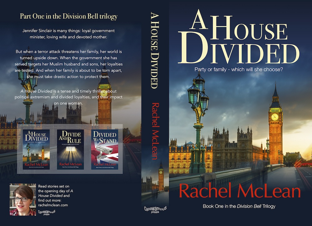 A House Divided by Rachel McLean - paperback cover