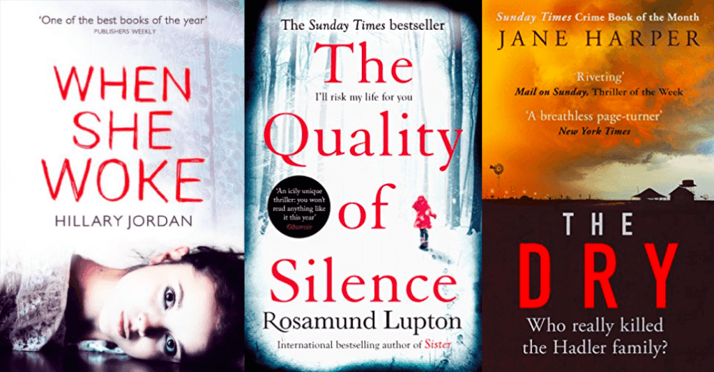 book recommendations - thrillers with an issue or a theme