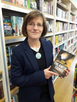 Anna Sayburn Lane with Unlawful Things at Dulwich Books