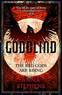 Godblind by Anna Stephens - cover