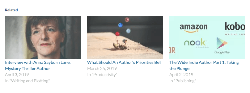 Featured images for related posts