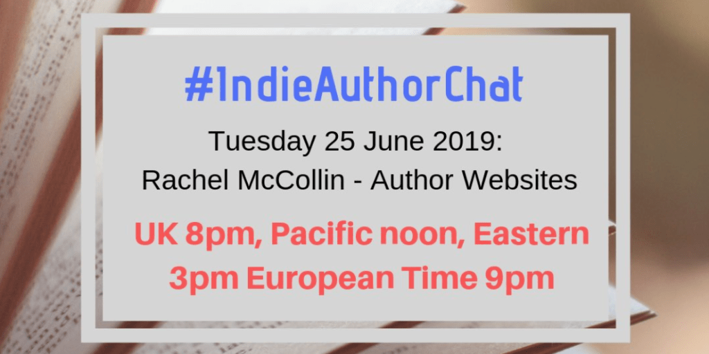 Indie Author Chat - author websites