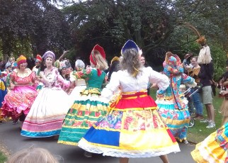 alternative date Rachel New Brazilian dancers at Horniman museum festival 2017