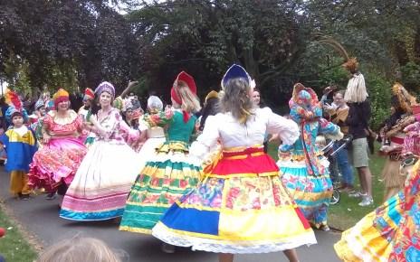 alternative date Rachel New Brazilian dancers at Horniman museum festival 2017